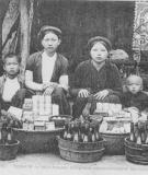Chợ cổ bên ngôi thành cổ Sơn Tây