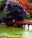 Cầu Thê Húc – Biểu tượng nét đẹp văn hóa người Hà Nội
