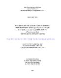 """LUẬN VĂN TỐT NGHIỆP: """" ỨNG DỤNG KỸ THUẬT PCR VÀ RT-PCR TRONG CHẨN ĐOÁN WSSV (White Spot Syndrome virus) VÀ GAV (Gill-associated virus) TRÊN TÔM SÚ (Penaeus monodon) Ở ĐỒNG BẰNG SÔNG CỬU LONG"""""""