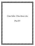 Cảm biến: Chìa khoá cho Pin EV