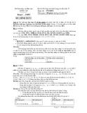 Đề thi học sinh giỏi môn Tin 12 - Sở GD&ĐT Long An