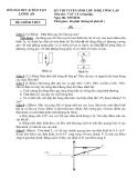 Đề thi tuyển sinh lớp 10 năm 2012 công lập môn vật lý đề 2 tỉnh Long An