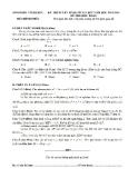 Đề thi lớp 10 môn toán 2013 tỉnh Vĩnh Phúc