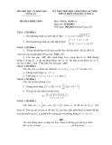 Đề thi học sinh giỏi môn Toán lớp 12 năm 2012 - Sở GD&ĐT Long An - Kèm đáp án