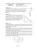 Đề thi học sinh giỏi môn Lý lớp 12 - Sở GD&ĐT Long An - Kèm đáp án