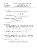 Đề thi học sinh giỏi môn Toán 11 - Sở GD&ĐT Quảng Bình