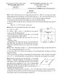 Đề thi Olympic Tây Hồ năm 2012 môn Vật lý 11