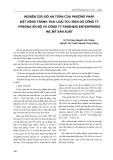 Nghiên cứu độ an toàn của phương pháp đặt vòng tránh thai loại TCu 380A do công ty Pregna ấn Độ và công ty Finishing Enterprises inc Mỹ sản xuất