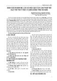 ĐÁNH GIÁ NHANH MÙ LOÀ VÀ HIỆU QUẢ CỦA CAN THIỆP MỔ ĐỤC THỂ THUỶ TINH Ở CỘNG ĐỒNG TỈNH HÀ NAM