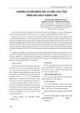 Nghiên cứu mô bệnh học và siêu cấu trúc viêm gan virut B mạn tính