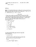Bài tập vật lý kiến trúc