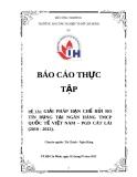 ĐỀ TÀI: GIẢI PHÁP HẠN CHẾ RỦI RO TÍN DỤNG TẠI NGÂN HÀNG TMCP QUỐC TẾ VIỆT NAM – PGD CÁT LÁI (2010 - 2012).