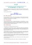 LUẬT SỐ 28/2004/QH 11 VỀ ĐIỆN LỰC