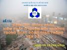 Đề tài: Đánh giá chính sách kiểm soát ô nhiễm môi trường trong hoạt động giao thông vận tải