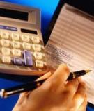 Đề tài: Hoàn thiện tổ chức lập và phân tích Bảng cân đối kế toán, Báo cáo kết quả hoạt động kinh doanh nhằm tăng cường thông tin quản lý tài chính tại Công ty cổ phần truyền thông Đại Dương
