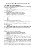 Câu hỏi và bài tập về đất đai,thuế tài nguyên,phí,lệ phí