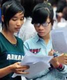 Đề thi đại học môn hóa học năm 2013 - Mã đề 374 - Khối A