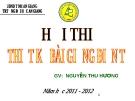 Các phương pháp dạy học tiếng Việt