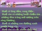 Du lịch Thành phố Huế