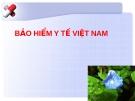 BẢO HIỂM Y TẾ VIỆT NAM.