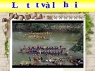 Lễ tết và lễ hội