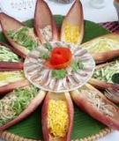 Đề tài nghiên cứu khoa học: Văn hóa ẩm thực bình dân Hải Phòng - khả năng khai thác phát triển du lịch