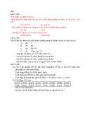Bài tập về phần Mạng máy tính