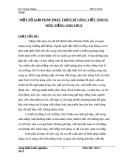 Đề tài: MỘT SỐ GIẢI PHÁP PHÁT TRIÊN KĨ NĂNG VIẾT TRONG MÔN TIẾNG ANH THCS