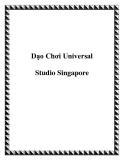 Dạo Chơi Universal Studio Singapore