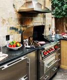 Thiết kế bếp ngoài trời cho nhà vườn