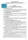 QUY CHẾ HOẠT ĐỘNG CỦA CÔNG TY CỔ PHẦN ĐẦU TƯ VÀ XÂY DỰNG 501