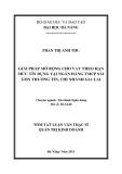 Luận văn:GIẢI PHÁP MỞ RỘNG CHO VAY THEO HẠN MỨC TÍN DỤNG TẠI NGÂN HÀNG TMCP SÀI GÒN THƢƠNG TÍN, CHI NHÁNH GIA LAI
