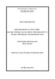 Luận văn:BIỆN PHÁP QUẢN LÝ CHẤT LƯỢNG DẠY HỌC TIN HỌC TẠI CÁC TRUNG TÂM NGOẠI NGỮ VÀ TIN HỌC TRÊN ĐỊA BÀN THÀNH PHỐ ĐÀ NẴNG