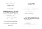 Luận văn:Giải pháp phòng ngừa và xử lý nợ xấu tại ngân hàng thương mại cổ phần công thương Việt Nam chi nhánh Đà Nẵng