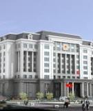 Đồ án tốt nghiệp Xây dựng: Trụ sở UBND thành phố Móng Cái - Quảng Ninh
