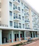 Đồ án tốt nghiệp Xây dựng: Chung cư Văn Khê - Hà Nội