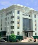 Đồ án tốt nghiệp Xây dựng: Nhà làm việc Công ty du lịch Bắc Thái