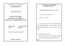 Luận văn: ĐÀO TẠO LAO ĐỘNG NGƯỜI DÂN TỘC THIỂU SỐ TRÊN ĐỊA BÀN THÀNH PHỐ KON TUM