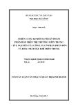 Luận văn:CHIẾN LƯỢC KINH DOANH SẢN PHẨM PHÂN BÓN TRÊN THỊ TRƯỜNG MIỀN TRUNG - TÂY NGUYÊN CỦA CÔNG TY CỔ PHẦN PHÂN BÓN VÀ HÓA CHẤT DẦU KHÍ MIỀN TRUNG
