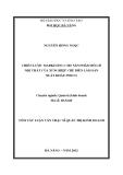 Luận văn:Chiến lược Marketing cho sản phẩm đồ gỗ nội thất của xí nghiệp chế biến lâm sản xuất khẩu Pisico