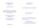Tóm tắt Luận văn Thạc sĩ Quản trị kinh doanh: Hoạch định chiến lược kinh doanh bảo hiểm phu nhân thọ của công ty bảo hiểm Bảo Việt Đắk Lắk