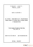 Luận văn:HẠN CHẾ RỦI RO CHO VAY TẠI NGÂN HÀNG NÔNG NGHIỆP VÀ PHÁT TRIỂN NÔNG THÔN TỈNH KON TUM