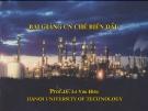 Slide Công nghệ chế biến dầu - Phần 5