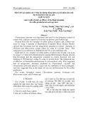 Một số kết quả nghiên cứu về hiệu lực phòng chống bệnh của chế phẩm nấm sinh học Ketomium trong sản xuất cà phê tại sơn la