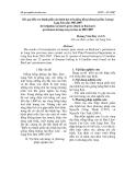 Kết quả điều tra thành phần sâu bệnh hại trên giống hồng không hạt Bảo Lâm tại Lạng Sơn năm 2003-2007