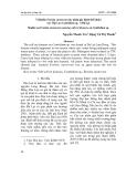 Vi khuẩn Erwinia carotovora tác nhân gây bệnh thối nhũn cây Địa Lan Cymbidium sp. ở Đà Lạt