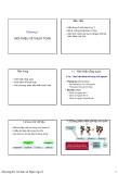 Bài giảng Kĩ thuật lập trình (Chương 1 - 6)