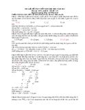 HD giải đề thi tuyển sinh Đại học năm 2013 môn HÓA khối B - Mã đề: 537
