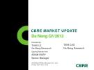 CBRE MARKET UPDATEDa Nang Q1/2012Presented by:THAO LE Da Nang ResearchOpening Remarks from:TIEN CAO Da Nang ResearchADAM BURY Senior ManagerCB Richard Ellis (Vietnam) Co., Ltd. Friday, April 20th, 2012.OPENING WORDSDa Nang 2012 – Continued S