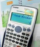Đề tài: Sử dụng máy tính cầm tay giải một số bài toán trong chương trình toán 10, 11, 12